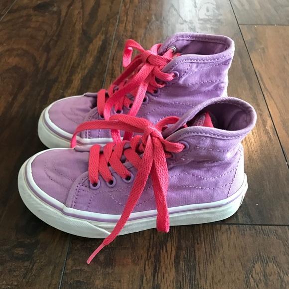 Vans Shoes | Toddler Girls High Top